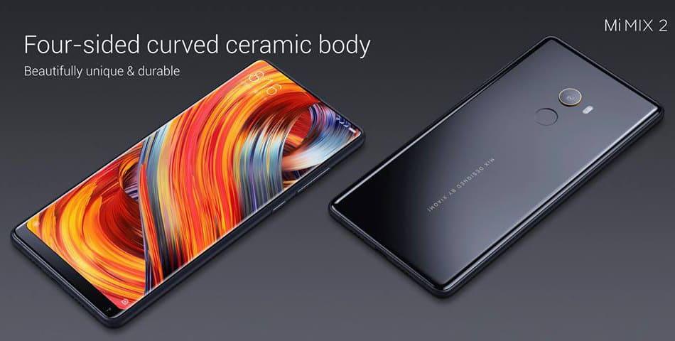 smartphone Xiaomi Mi mais vendido Mix 2
